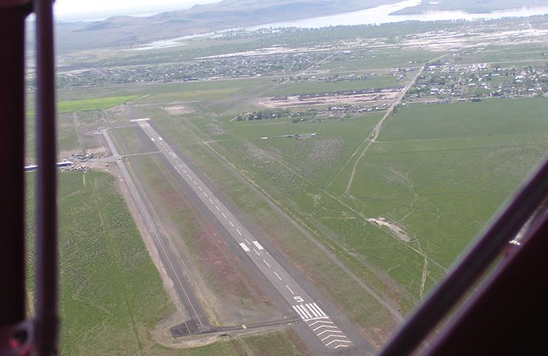 SSA Runway from the air